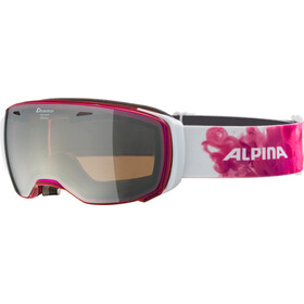 Alpina Estetica MM Goggle translucent pink black spherical
